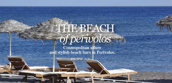 Beach Bars Santorini Island Travelers Information
